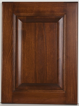 Alder Square Raised Panel with Kruger stain