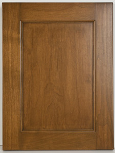 Alder Flat Panel with Ikeman One stain