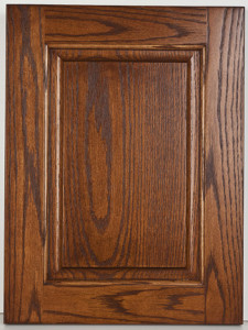 """Oak Raised Panel special Scoop with """"Lehn"""" stain"""