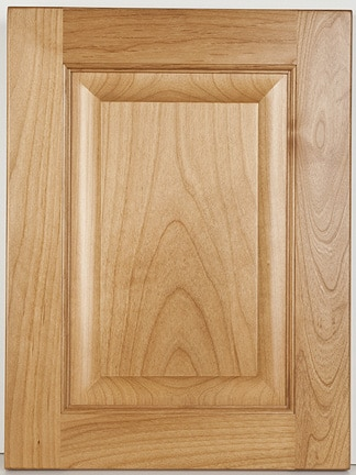 Alder Square Raised Panel-Natural