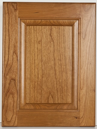 Cherry Square Raised Panel-Natural