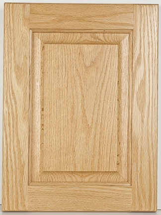 Oak Square Raised Panel-Natural