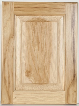 Hickory Square Raised Panel-Natural
