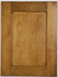 Birch Flat Panel Shaker with Ikeman Stain