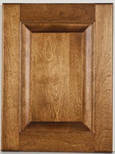 Birch Raised Panel with Palk-Decker Stain