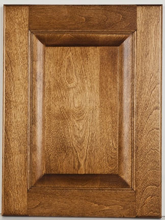 Birch Raised Panel with Palk-Decker Stain