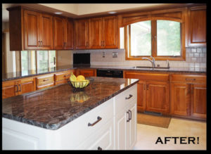 Jewel Cabinet Refacing After Refacing