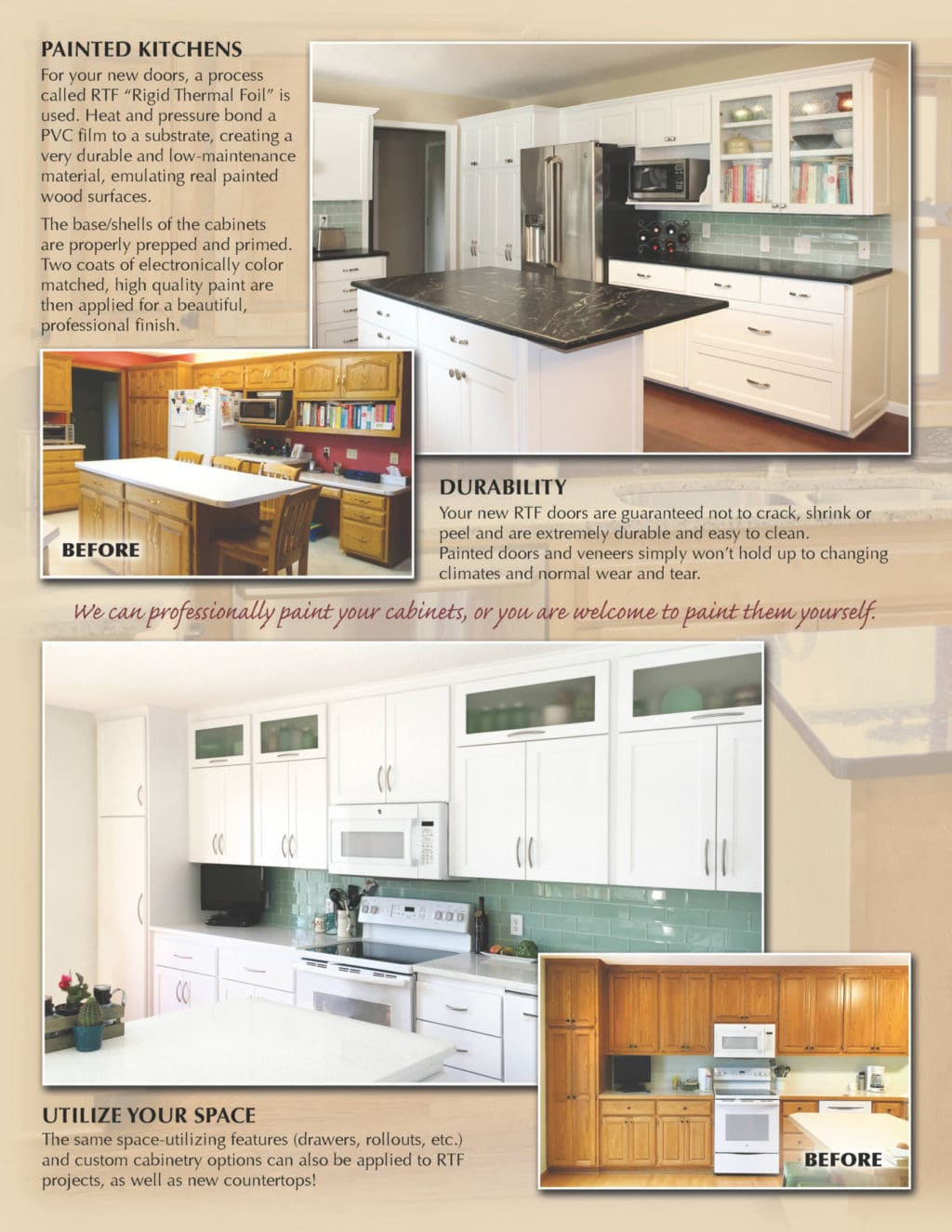 Jewel Cabinet Refacing brochure page 4