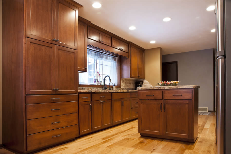 jewel cabinet refacing 24 Flat Panel Kitchen-Closed web