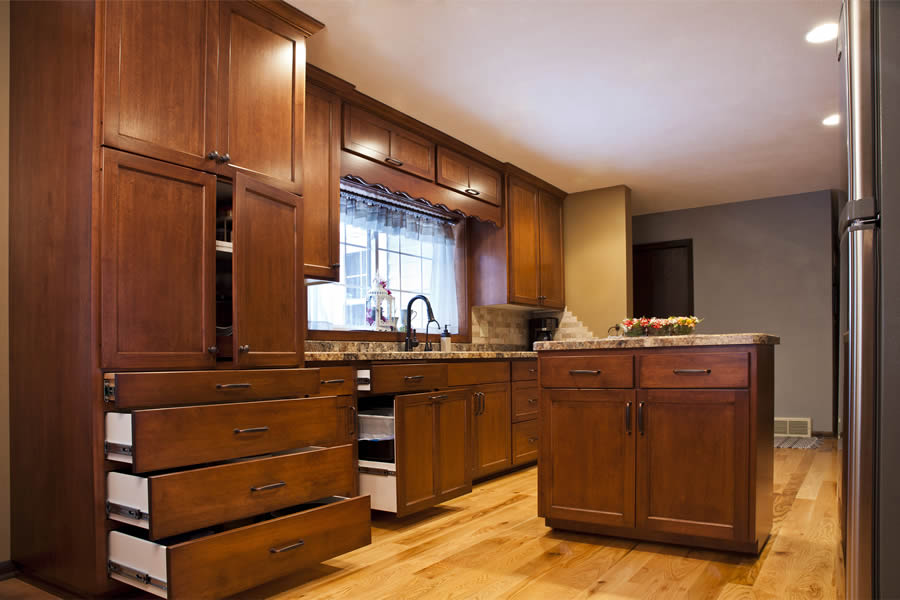 jewel cabinet refacing 25 Flat Panel Kitchen-Open web
