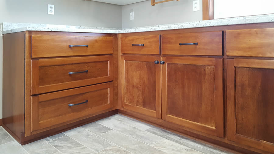 jewel cabinet refacing Lazy Susan Corner Closed web