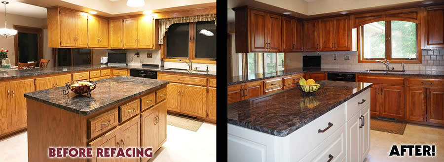 jewel cabinet refacing 38 Mehere Before and after web