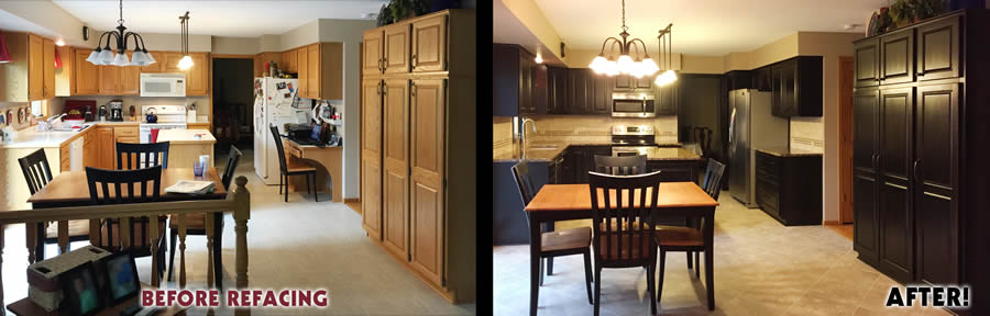 jewel cabinet refacing 74 Black Alder Before and After web