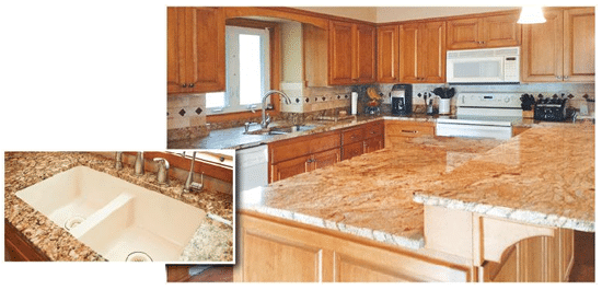 cabinet refacing after at jewel cabinet refacing of minnesota countertops 2