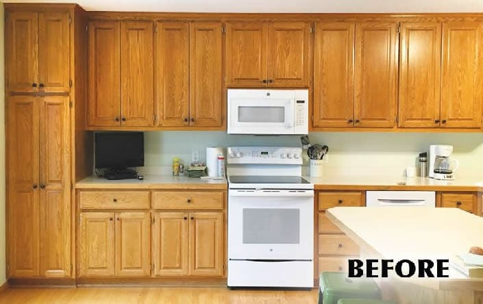 painted kitchens before 2